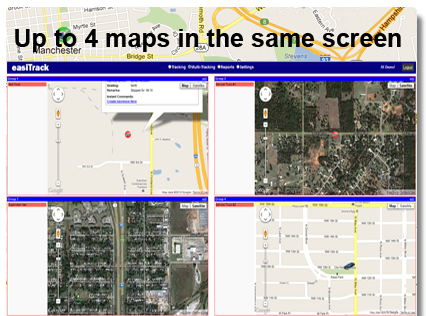 View multiple maps at the same time